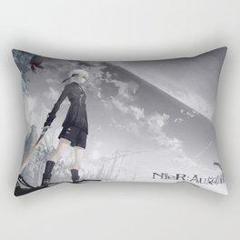 Neir Automata  Rectangular Pillow