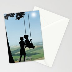 Childhood Dreams, Push Me Stationery Cards