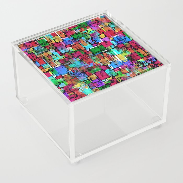 Bunte Mischung Acrylic Box