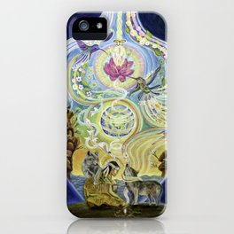 Sowing Seeds of Peace iPhone Case