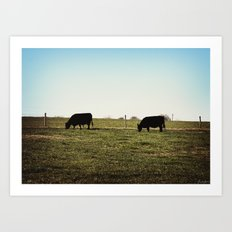 Grass Fed Art Print