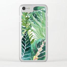 Havana jungle Clear iPhone Case