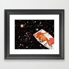 Cosmic Float 2 Framed Art Print