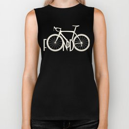 Fondo Cycling Italian Retro Vintage Bicycling Biker Tank