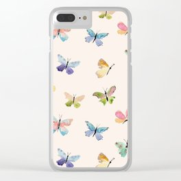 Beautiful Butterflies Clear iPhone Case