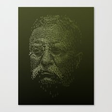 Roosevelt Forest Canvas Print