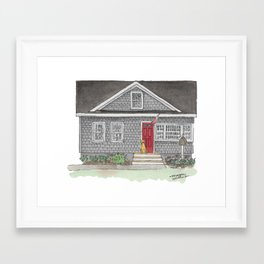 The Zupe Home Framed Art Print
