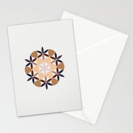 Flower of life - colored Stationery Cards