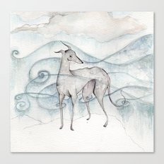 Whippet Canvas Print