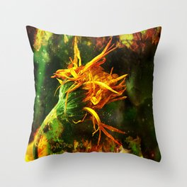 Burning Sensation Throw Pillow