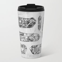 Arrangement of Crystals Travel Mug