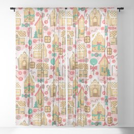 Candy Land Sheer Curtain