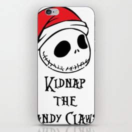 KIDNAP THE SANDY CIAWS iPhone Skin