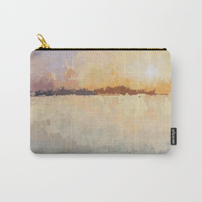SUNSET (oil landscape) Carry-All Pouch