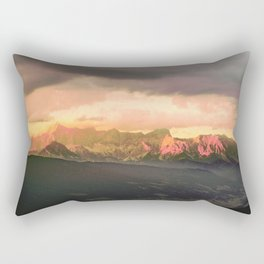 Escaping  -  Mountains - Dachstein, Austria Rectangular Pillow