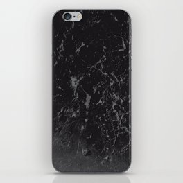 Gray Black Marble #1 #decor #art #society6 iPhone Skin
