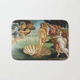 The Birth of Venus by Sandro Botticelli (1485) Bath Mat