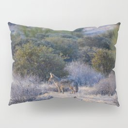 Desert Coyote Pillow Sham