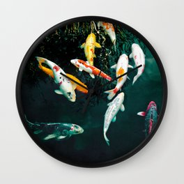 one fish, two fish... Wall Clock
