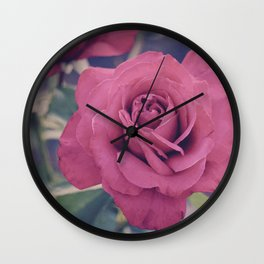 Pale Rose Wall Clock
