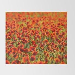 Poppys. Throw Blanket