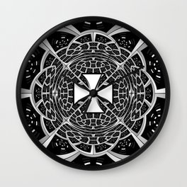 Cross pattée Wall Clock