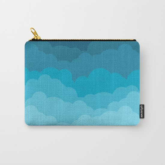 Gradient Clouds Carry-All Pouch