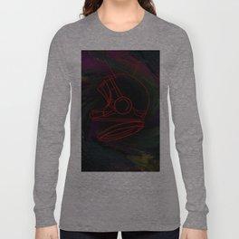 Space Helmet Long Sleeve T-shirt