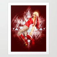 android Art Prints featuring Android by MellodyDoll