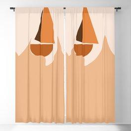 Sailboat Blackout Curtain