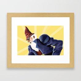 Jojo Gnome Framed Art Print