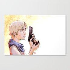 Resident Evil - Sherry Tribute Canvas Print