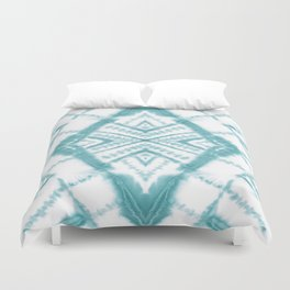 Dye Diamond Sea Salt Duvet Cover