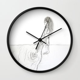 first steps in new path Wall Clock
