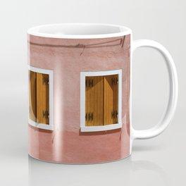 Sunny pink house Coffee Mug