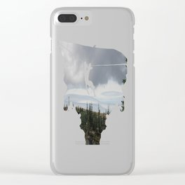 Out Over The Edge Clear iPhone Case