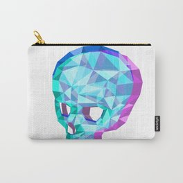 the hollow skull Carry-All Pouch