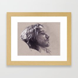 He Lost Everything Framed Art Print