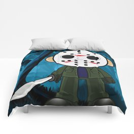 Lil Horror Classics Featuring Jason Vorhees from Friday the 13th Comforters