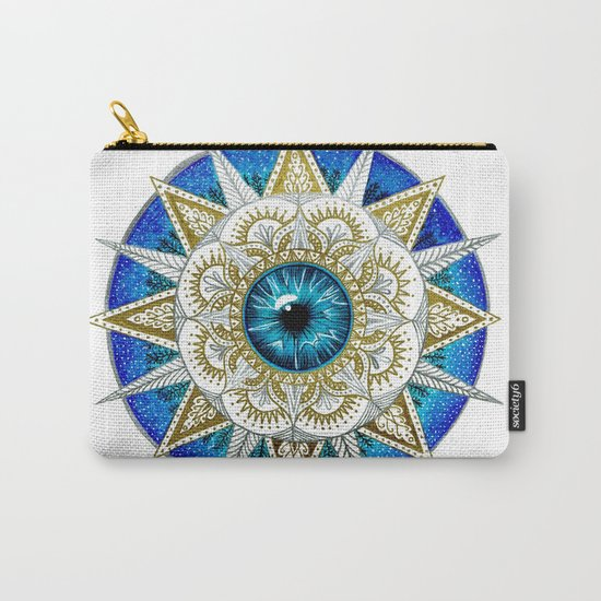 Eye Mandala Carry-All Pouch
