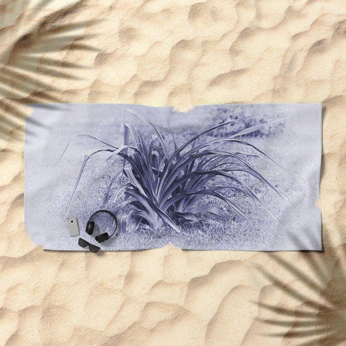 Rainy Morning Beach Towel