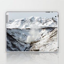 Geothermal valley, natural volcanic hot springs area on Kamchatka Peninsula Laptop & iPad Skin