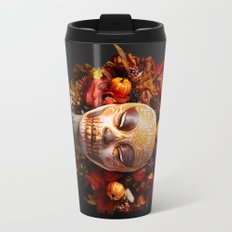 Pumpkin Harvest Muertita Travel Mug