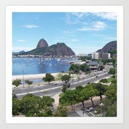 Rio de Janeiro Landscape Art Print
