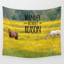 Wander Without Reason Wall Tapestry