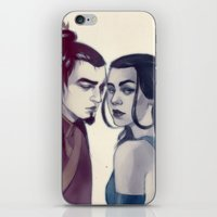 zuko iPhone & iPod Skins featuring zukokatara by andrahilde