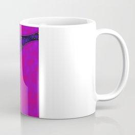 Dark Fibonacci Spiral Fractal Coffee Mug