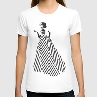 dress T-shirts featuring Dress by Yordanka Poleganova