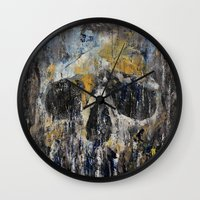 cthulhu Wall Clocks featuring Cthulhu by Michael Creese