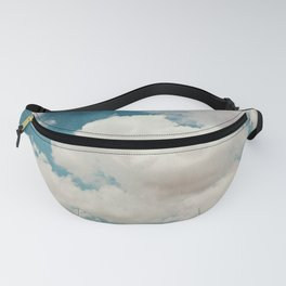 January Clouds Fanny Pack